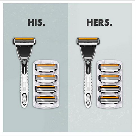 i love this. dollar shave club plays up gender neutrality to expand its market to women. http://t.co/3NZ7stkFTy