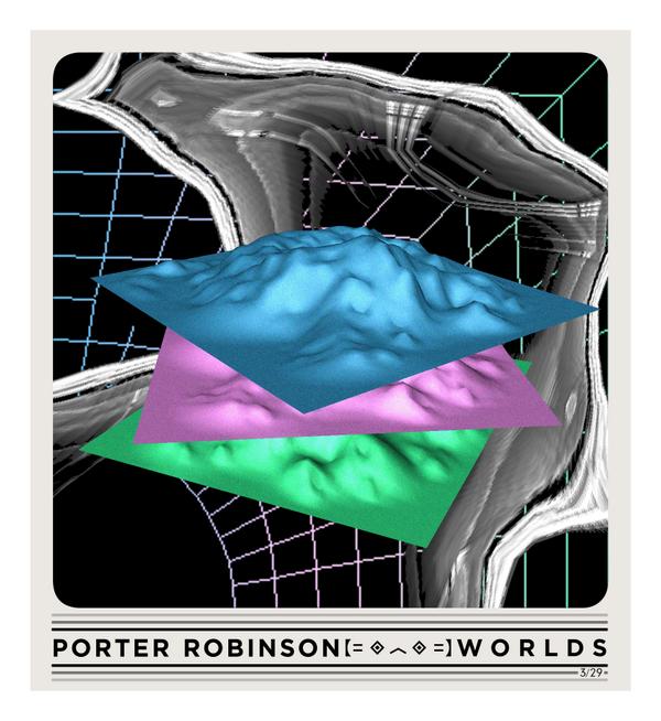 Porter Robinson Worlds Art