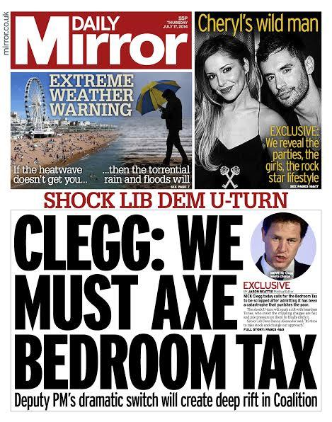 Good news Clegg's caught up with those of us who voted against this in 1st place http://t.co/HbBpkJ91IZ #bedroomtax http://t.co/RaeSVOcPmb