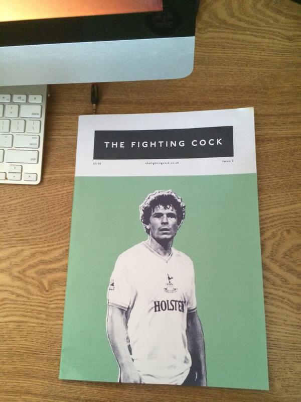 Issue 2 has arrived in Vietnam! Cheers lads! @LoveTheShirt @Flav_Bateman @RickyTFC @WindyCOYS @Spooky23