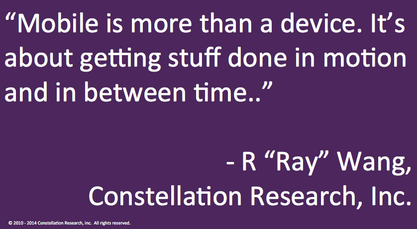 Twitter / rwang0: MyPOV: you have to realize ...