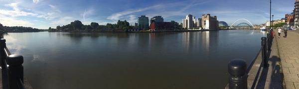 Beautiful morning for a run by the river #iwmw14 http://t.co/5AOTkCGadU