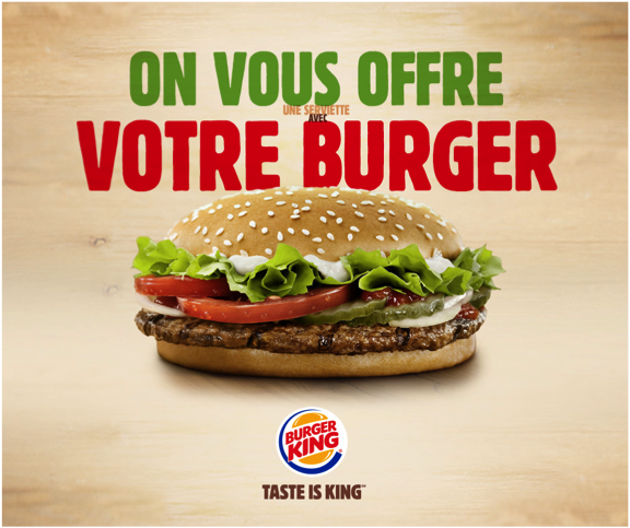burger king france on twitter   u0026quot offre exceptionnelle pour l u0026 39 ouverture du burger king de reims