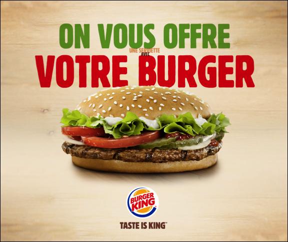 burger king france on twitter   u0026quot offre exceptionnelle pour l u0026 39 ouverture du burger king de reims