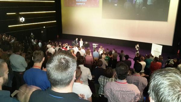 Standing ovation for @NeelieKroesEU at #okfest14 http://t.co/4zZ9Kt7jyr