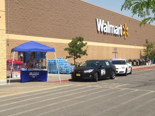 tooele city police on twitter at walmart with tooelecohealth talking about the dangers of leaving kids in vehicles