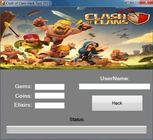 Генератор clash clans