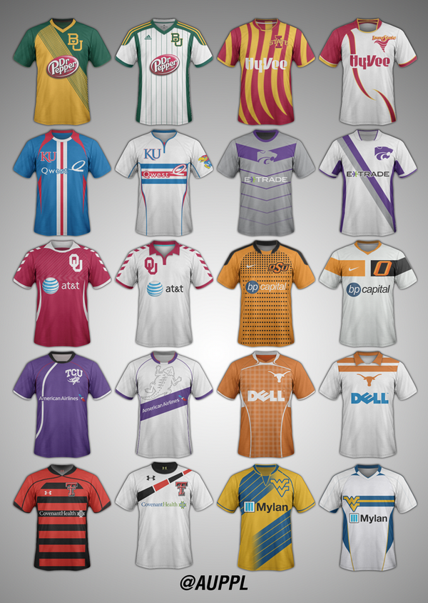 Continuing the series, here are some Big XII Soccer concepts http://t.co/6RQ7EQm74V