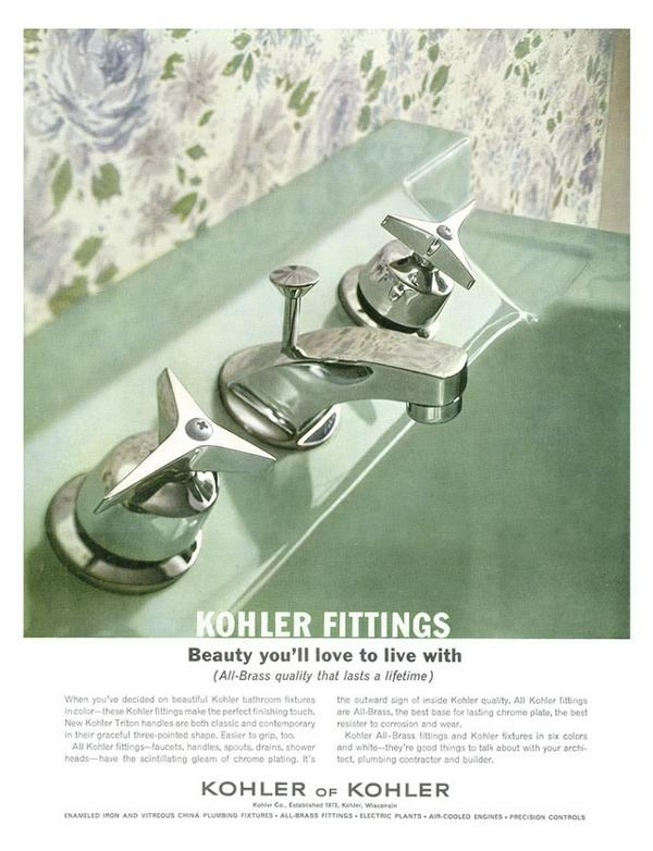 Yes! Also bring back that faucet placement RT @Kohler: Green sinks: Yes or no? #TBT #ThrowbackThursday #Ad http://t.co/EeF5acb0br