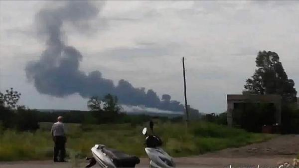 possibly first picture from Malaysian plane crash #ukrainecrash http://t.co/FvHOcNe1TX