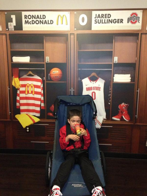 @Jared_Sully0 Thank You for making our Jared feel at  home while staying at Children's Hospital Ohio #jaredsfight http://t.co/MYdEYc5sEM