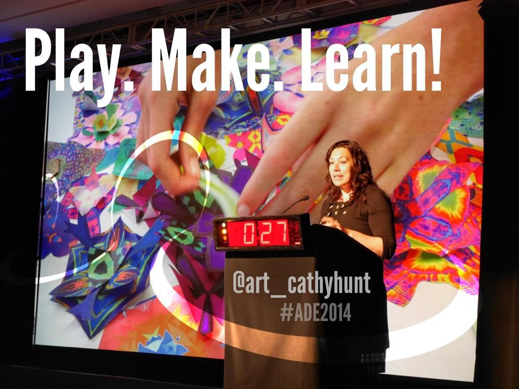 Twitter / jnxyz: Play. Make. Learn! Kids art ...