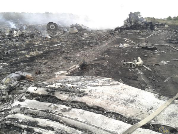 New pictures of the #MH17 crash site in eastern #Ukraine have emerged http://t.co/EMtvnc9z7S http://t.co/ZD4UVZGZeB