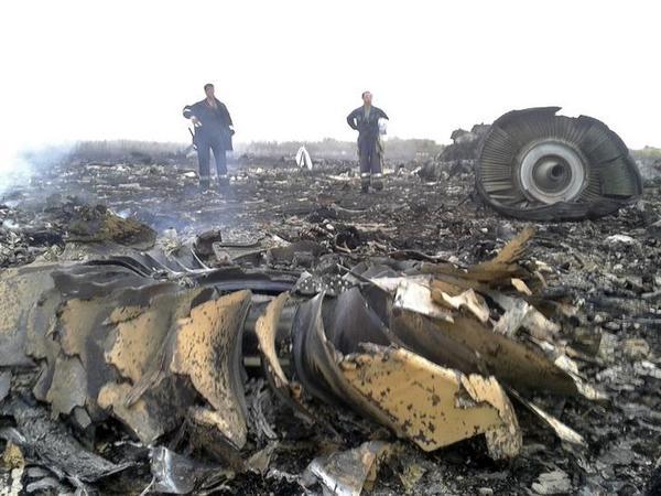 Боїнг-777 было сбито на Донбасі (ФОТО)