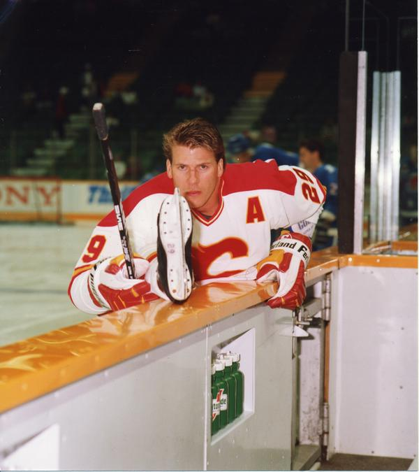 Calgary Flames On Twitter Throwbackthursday Joel Otto Intense Tbt Http T Co Ldbljzbkwh