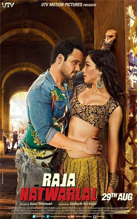 Emraan Hashmi and Humaima Malik Poster Raja Natwarlal Romantic