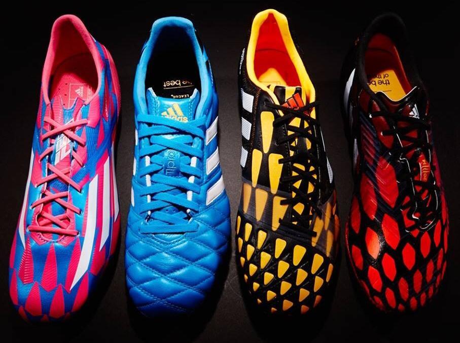 4a5cc9872 Nuevos colores de botas Adidas para la temporada 2014-2015 (fotos ...
