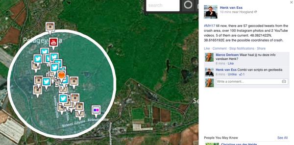 bizar, op basis v tweets en instagrams heeft @henkvaness coordinaten van crash #MH17 bepaald http://t.co/4LXQ43t1ag http://t.co/4UAuqFVmPm