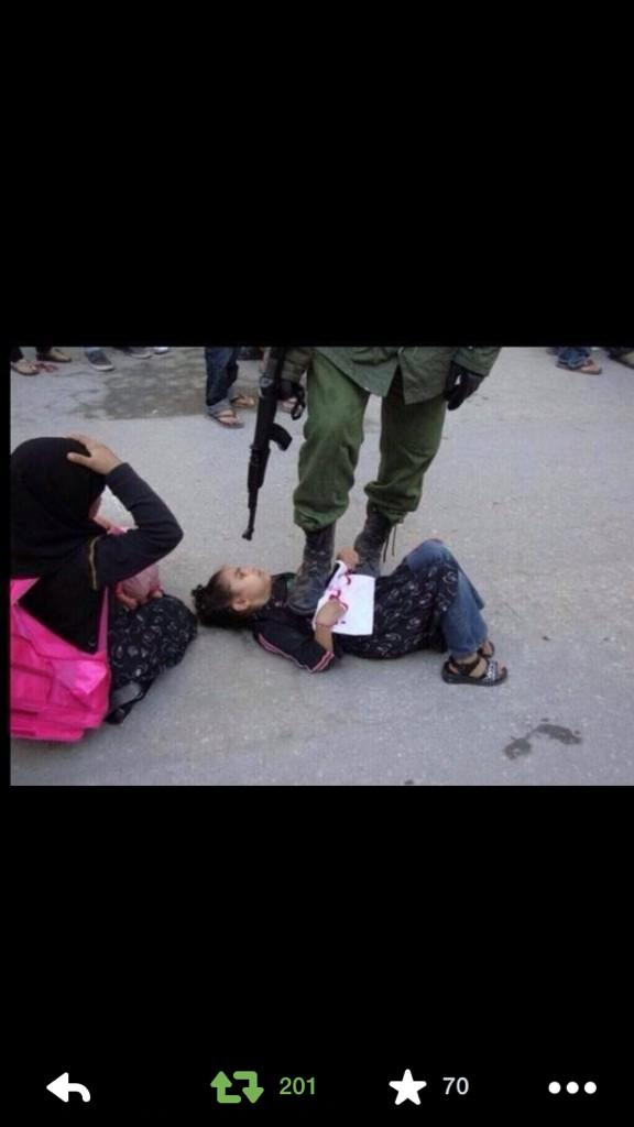 How could this be OK #FreePalestine #FreeGaza .. Scanless shit http://t.co/ThTvM2FKVb