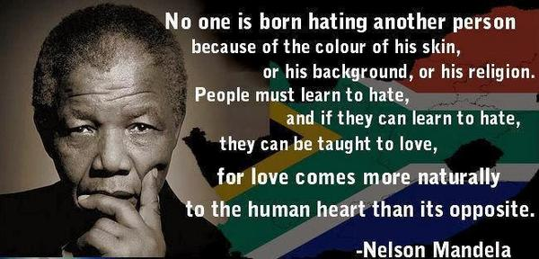 As the world tenses up (gaza & russia), remember Mandela's birthday tomorrow and this relevant quote. http://t.co/x2xIPpqI5N