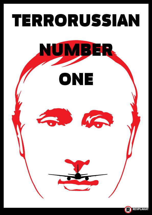 terrorussian number one #MH17 #boeing777 #nowar #stoprussia #OsamaBinPutin  print: https://t.co/psYhiAHTas http://t.co/istmBjHP0x