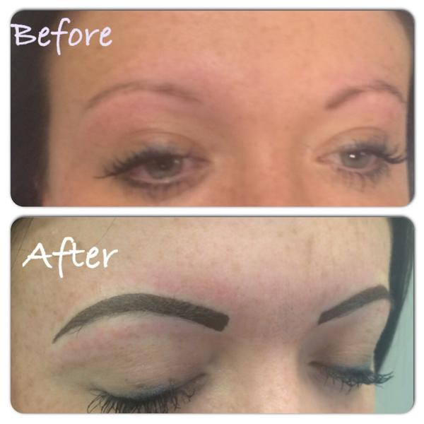Semipermanent Makeup On Twitter Todays Semi Permanent Eyebrows