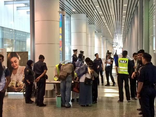 #MH17 next-of-kin registering at family and friends holding centre at #KLIA http://t.co/BM8CMDqsDM