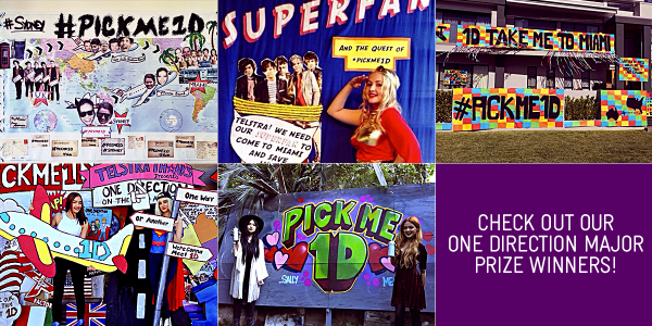 Telstra on twitter congrats to the 5 pickme1d winners who will telstra on twitter congrats to the 5 pickme1d winners who will meet onedirection in miami thanks to everyone for the amazing entries m4hsunfo