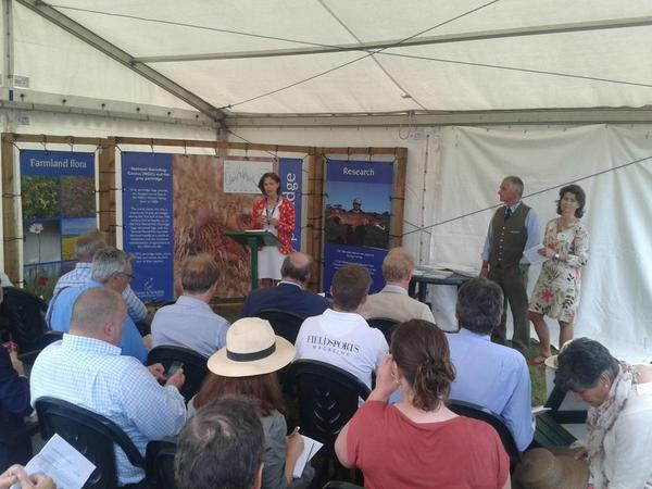GWCT press briefing on Hen Harrier Recovery Plan at CLA Game Fair http://t.co/TiwLetCWoU