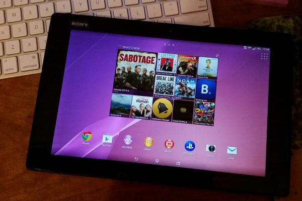 This beautiful new (waterproof) #Sonyxperia tablet out today! Giving 10 away on #VZWBuzz chat at 3 pm ET tomorrow http://t.co/0F4tCY7q9s