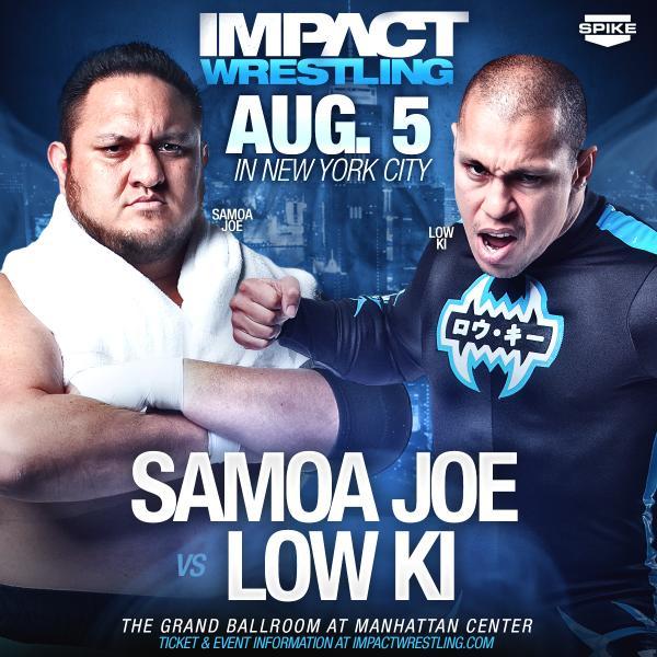 Еще один бой анонсирован на записи Impact Wrestling
