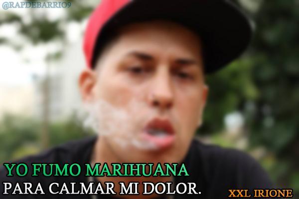 Frases Rap De Barrio On Twitter Yo Fumo Marihuana Para