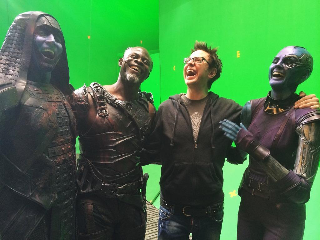 "James Gunn on Twitter: ""#gotgpicoftheday Even the villains love how people love #GotG. With ..."