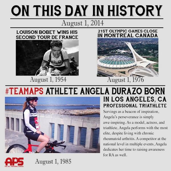 #happybirthday to @allproscience #TeamAPS triathlete @Angeladurazo! Take care and keep on rocking!