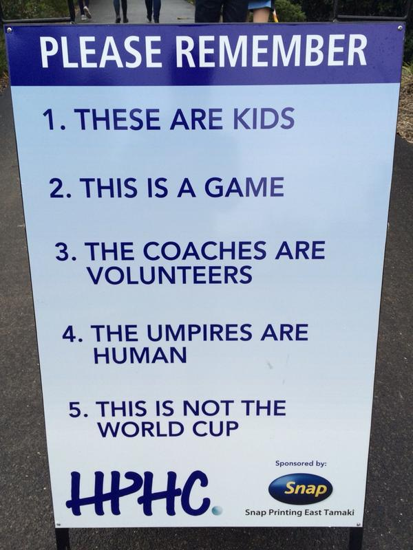 """Attention Cyclocross parents. For your consideration. """"@tmurphyNZH: Sense on the sideline http://t.co/qOHCGYYOcr"""""""