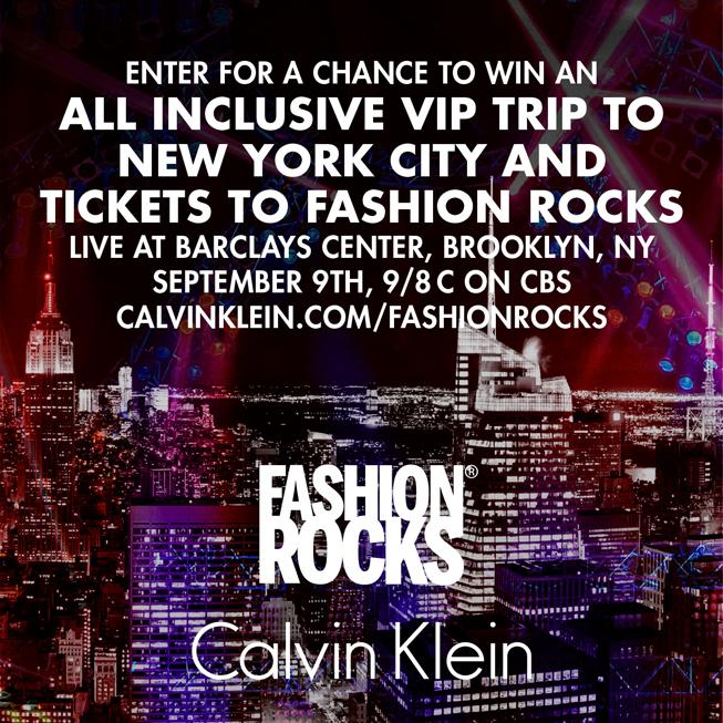 Enter to win an all inclusive VIP trip to NYC for @FashionRocksTV at the @barclayscenter: http://t.co/BiVsklTSSk http://t.co/jbYZYy56dS