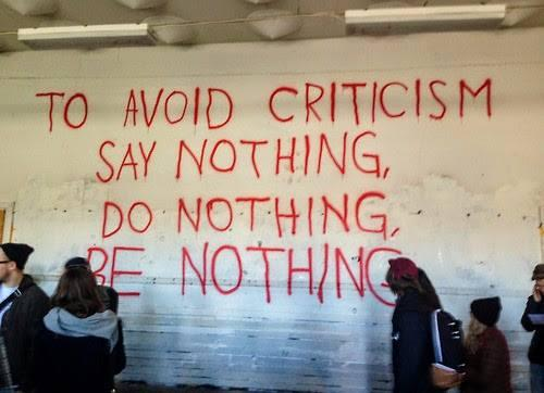 Bildresultat för to avoid criticism say nothing do nothing be nothing