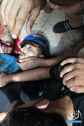 Breaking: Video of Assassination of Journalist Ramy Ryan by Israeli forces today in #Gaza http://t.co/wbwDSdgP7m / http://t.co/anK5xm6qrm