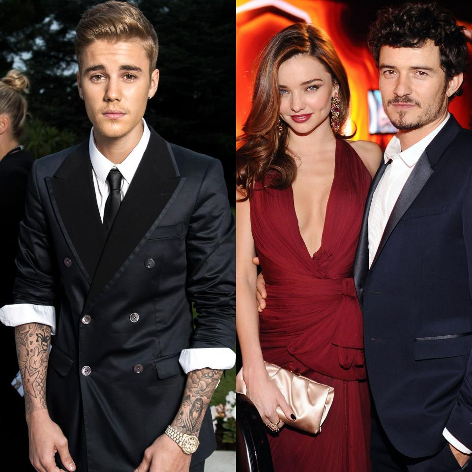 UPDATE: Justin Bieber responds to Orlando Bloom on Instagram—see the deleted pic here: http://t.co/e5lPyzANY3 http://t.co/kTsNdhXEGi