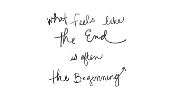 What feels like the end, is often the beginning. RT if you agree! http://t.co/aIoAIzRdya http://t.co/47n26v5gZh
