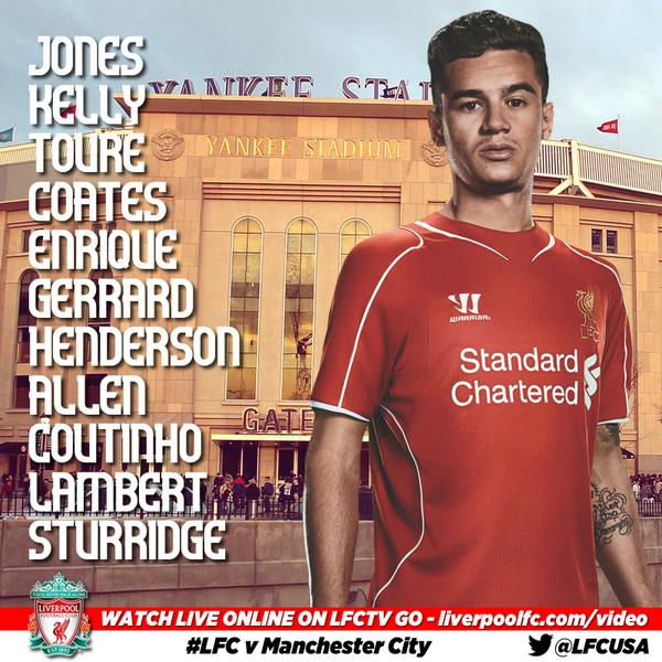 Preseason Match #5 | Liverpool FC vs. Man City | July 30th Bt0vWtMCEAA7dka