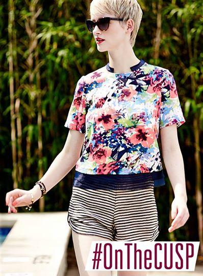 Let's discuss printed tops. What's your summer staple? #OnTheCUSP #summer http://t.co/pME8eNyWDk