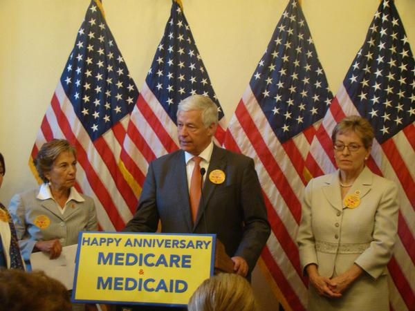 Medicare and Medicaid became law 49 years ago today!  http://t.co/GzFmUxUdz5 http://t.co/XbGYoFLjn4