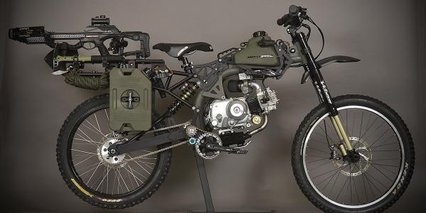 """@BikeEXIF: Is the @Motopeds Black Ops Survival Edition the coolest 49cc moped ever made? http://t.co/a3yn415XfS http://t.co/sJXxuEsWIV"" yes"