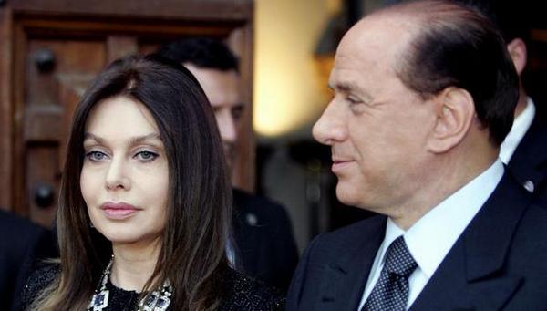 Silvio Berlusconi sta versando troppi soldi all'ex moglie Veronica Lario