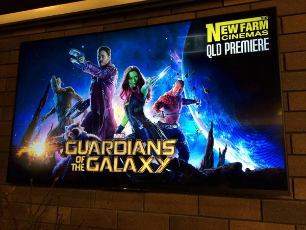 Guardians of the Galaxy was spectacular, and there is no better way to see than at New Farm Six! http://t.co/nCWvmvEjTR