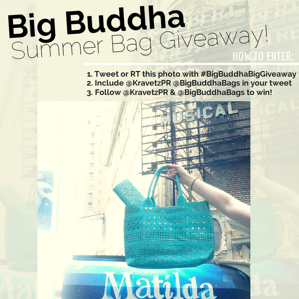 It's week 2 of our #BigBuddhaBigGiveaway! RT & Follow for a chance to #win @BigBuddhaBags! http://t.co/1uT6Iw4LXY http://t.co/yqOU415g9w