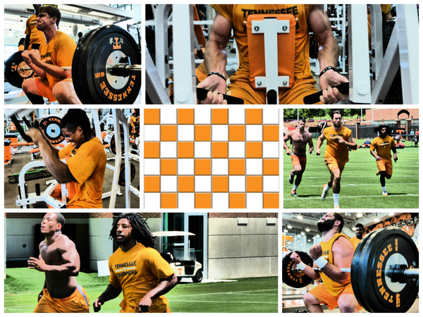 WORK ZONE...TENNESSEE VOL STYLE.  #VFL  #GBO  #TEAM118 #BROTHERS #TOGETHERNESS #WORK #63EFFORT #STRAIN http://t.co/mXXPqcPrQq