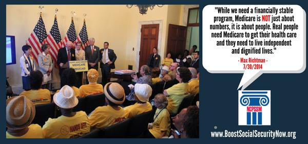 Yesterday, we celebrated #Medicare's 49th Anniversary. We heard from Members of Congress, advocates, and allies: #p2 http://t.co/ohR6zKx6YR