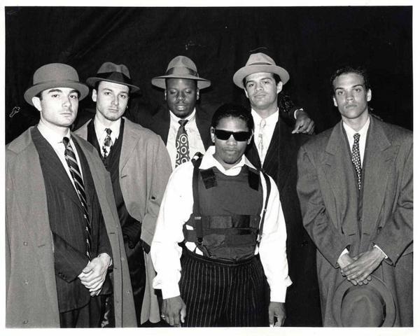 #TBT w/ Eazy E, @shoolyd @djlethal 1990. I'm on far right. #QDIII #Eazy E, #Dr.Dre #IceCube http://t.co/XFlOprmHR5